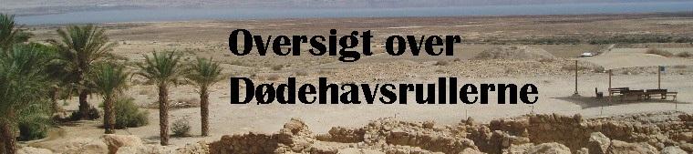 dødehavsrullerne på dansk